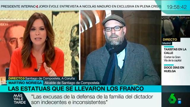 Más Vale Tarde: Xuízo contra os Franco